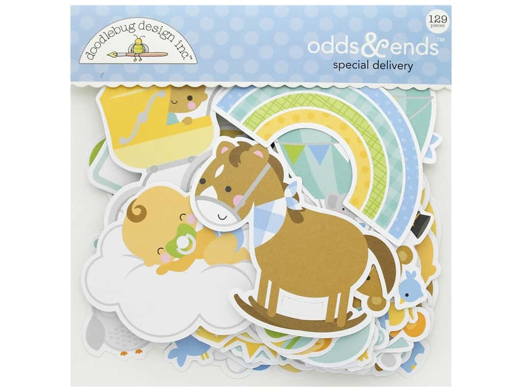 Doodlebug Collection Special Delivery Odds & Ends