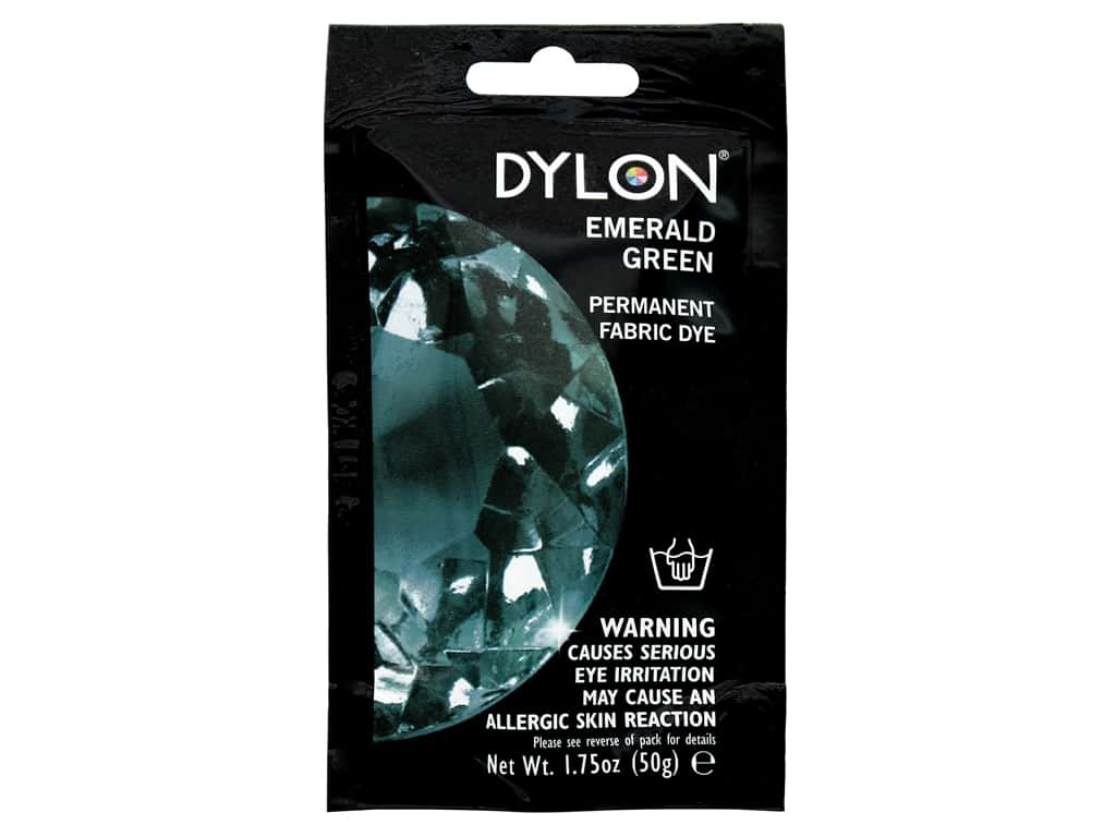 Dylon Permanent Fabric Dye 1.75oz Emerald Green