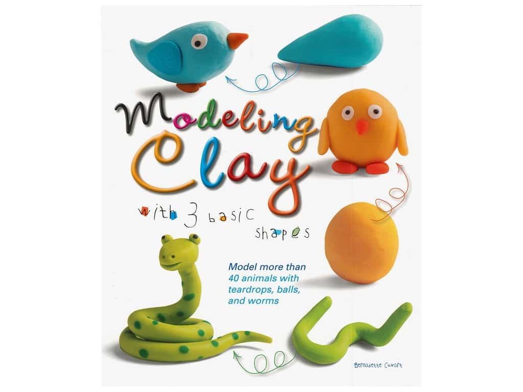 B. E. S. Publishing Modeling Clay With 3 Basic Shapes Book
