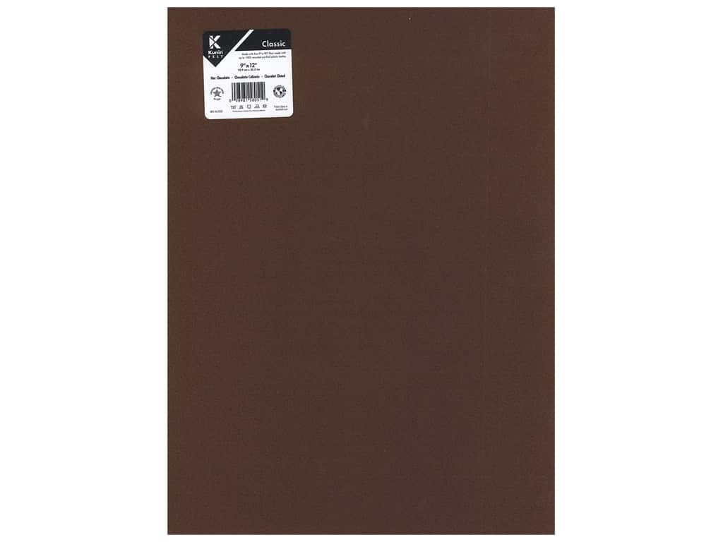 Kunin Felt 9 x 12 in. Hot Chocolate (24 pieces)