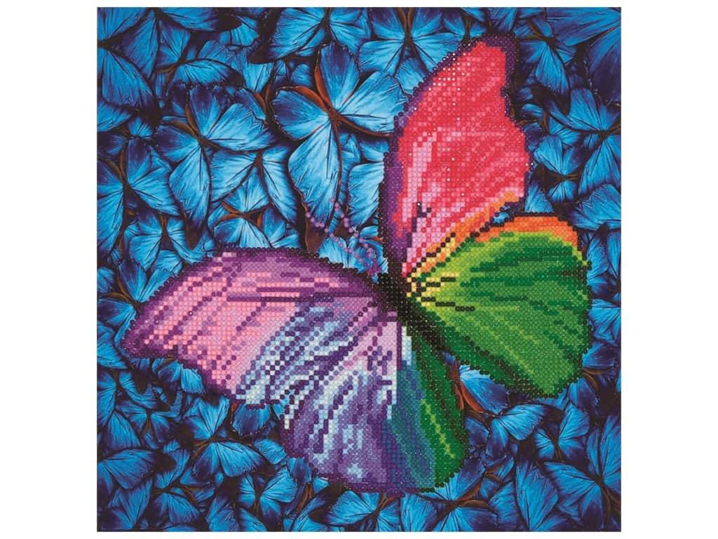 Diamond Dotz Intermediate Kit - Flutterby Pink