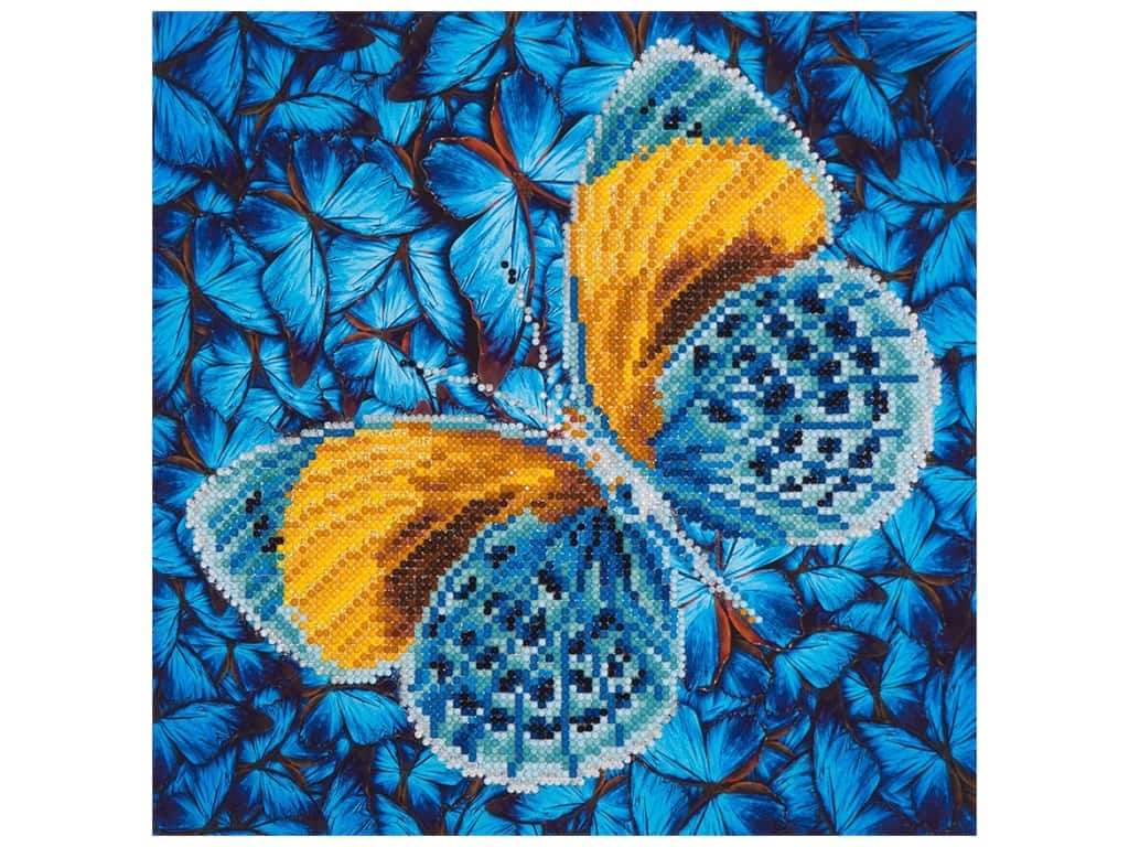 Diamond Dotz Intermediate Kit - Flutterby Gold