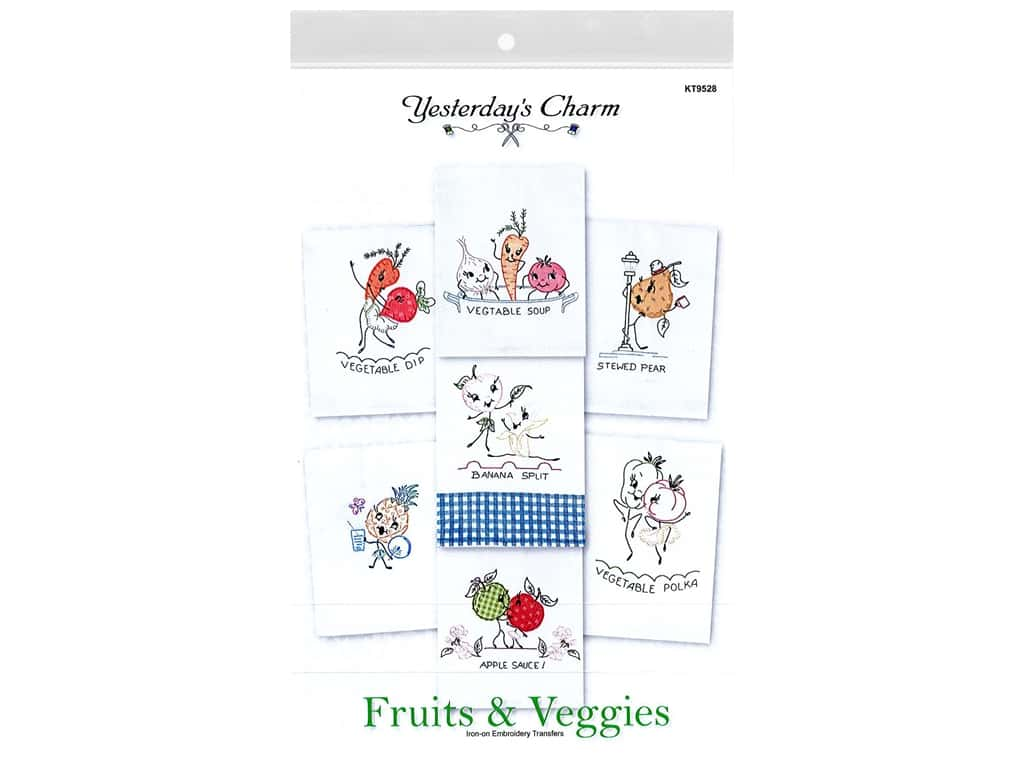 Yesterday's Charm Patterns Fruits & Veggies
