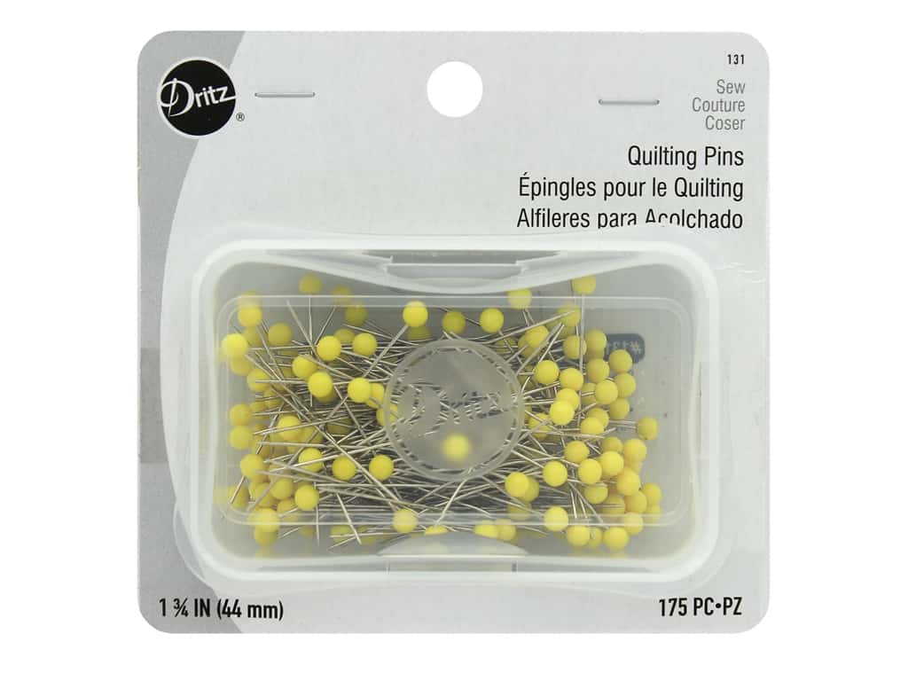 Dritz Quilting Pins 1 3/4 in. 175 pc.