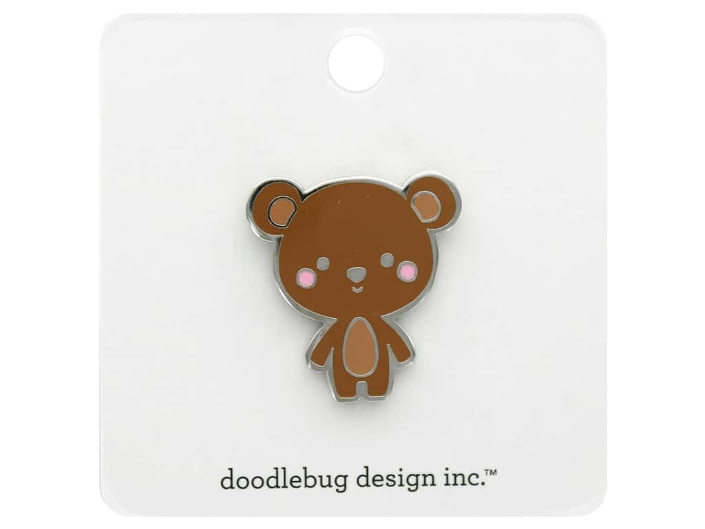 Doodlebug Collection Special Delivery Collectible Pin Baby Bear