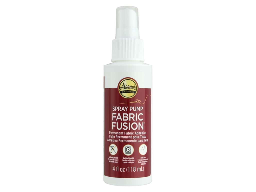 Aleene's Fabric Fusion 4 oz. Spray Pump