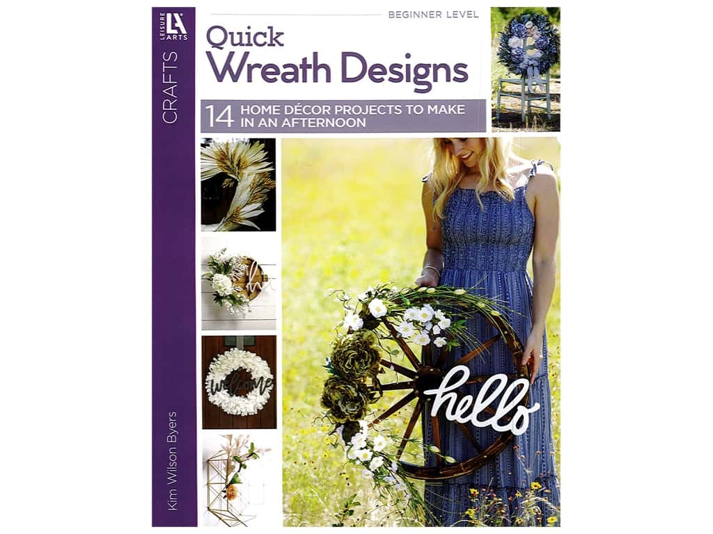 Leisure Arts Quick Wreath Designs Book