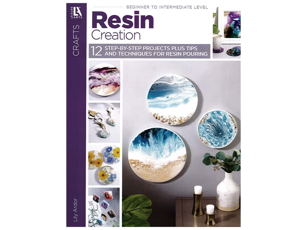 Leisure Arts Resin Creations Book
