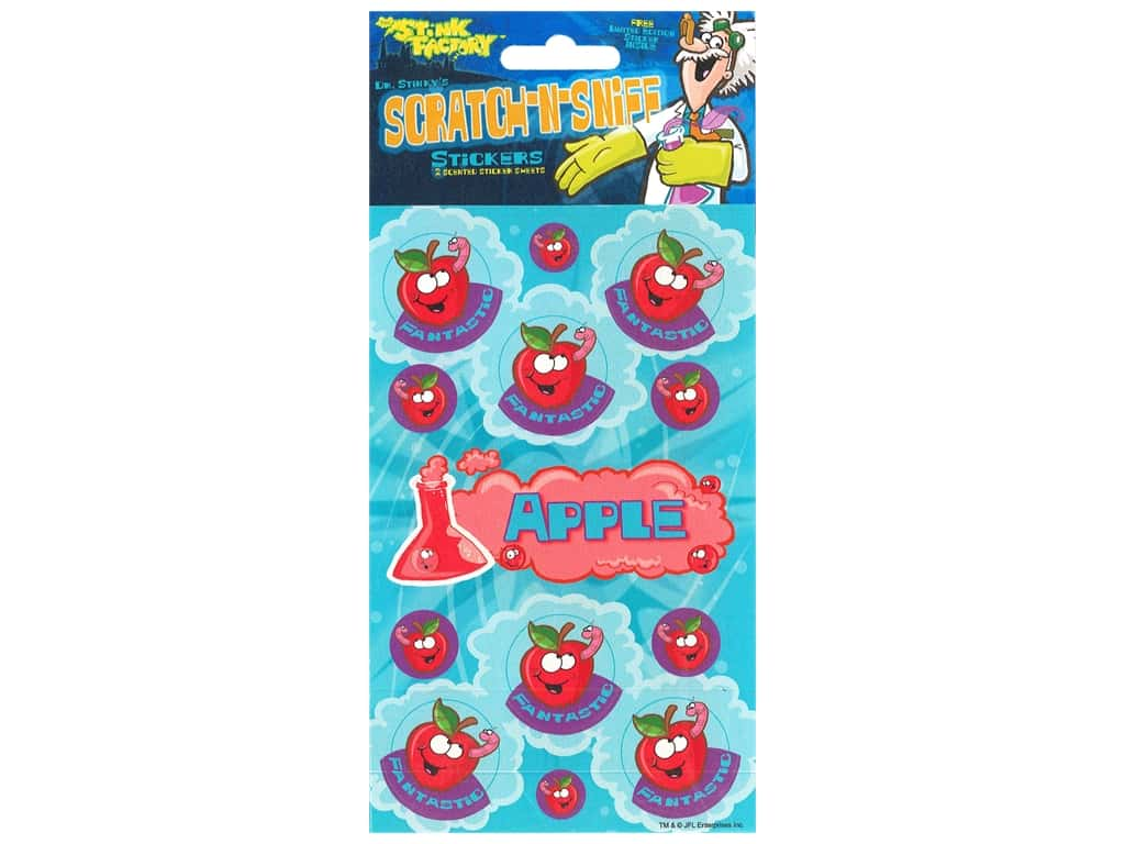 Just For Laughs Sticker Scratch N Sniff Apple