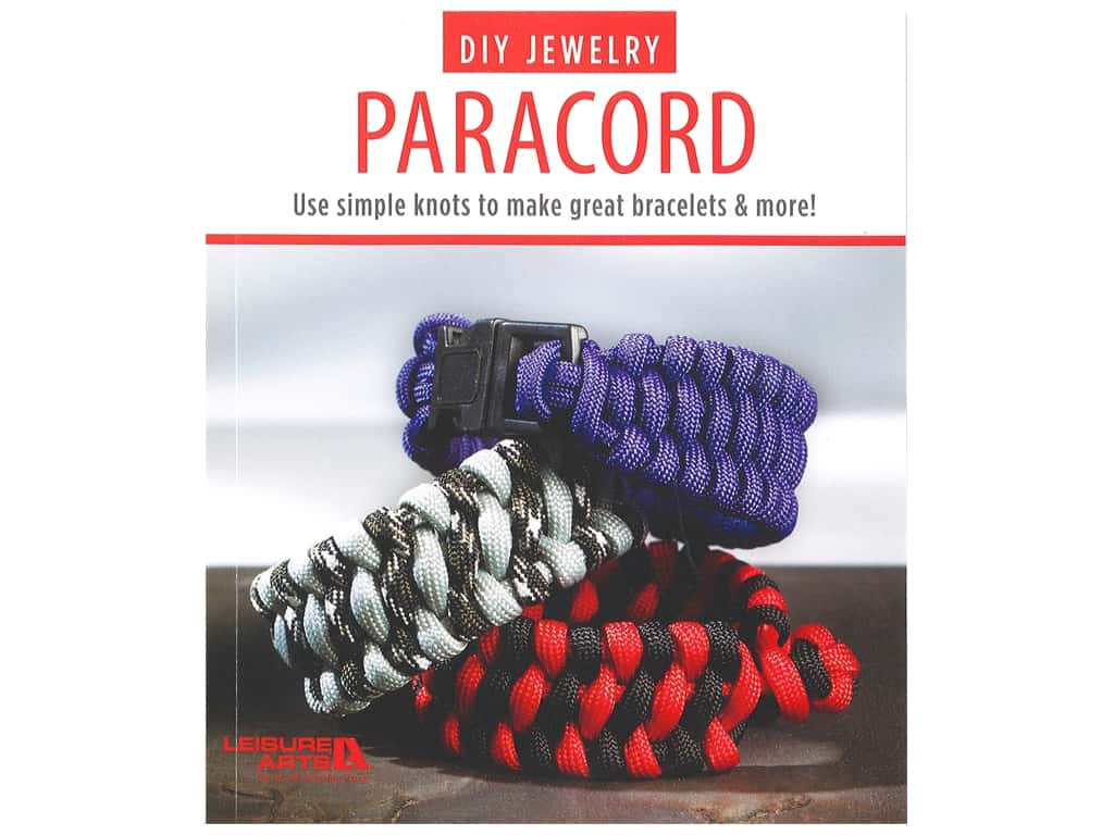 Leisure Arts DIY Jewelry Paracord Book