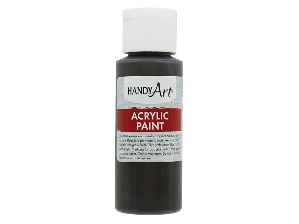Handy Art Acrylic Paint 2oz Student Raw Umber