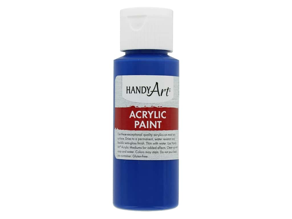Handy Art Acrylic Paint 2oz Student Phthalo Blue