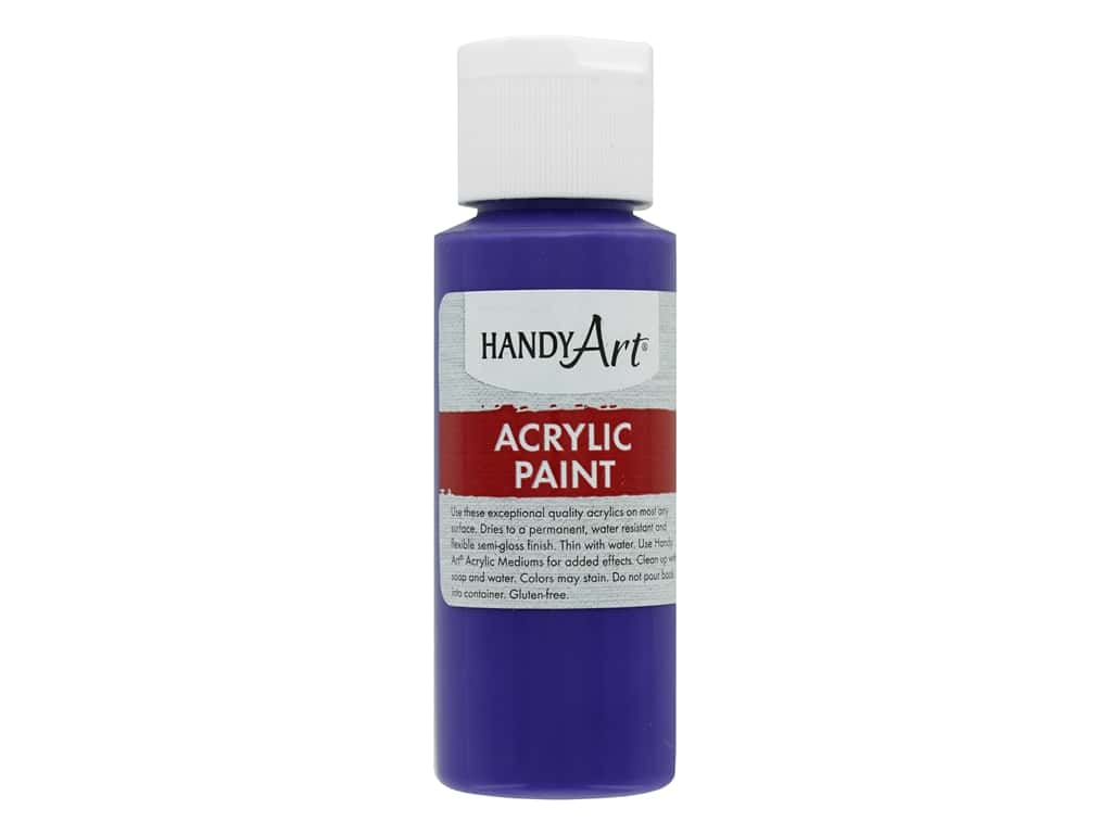 Handy Art Acrylic Paint 2 oz. Violet
