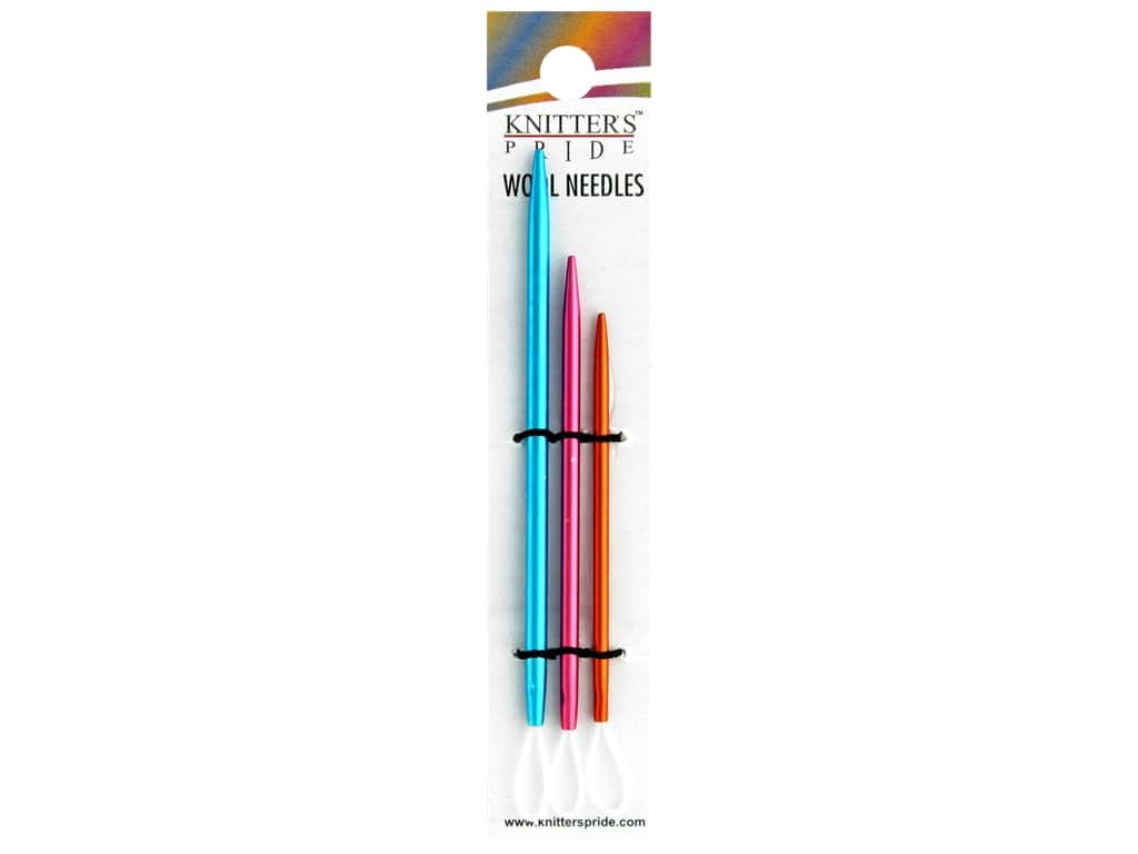 Knitter's Pride Wool Needle 3pc