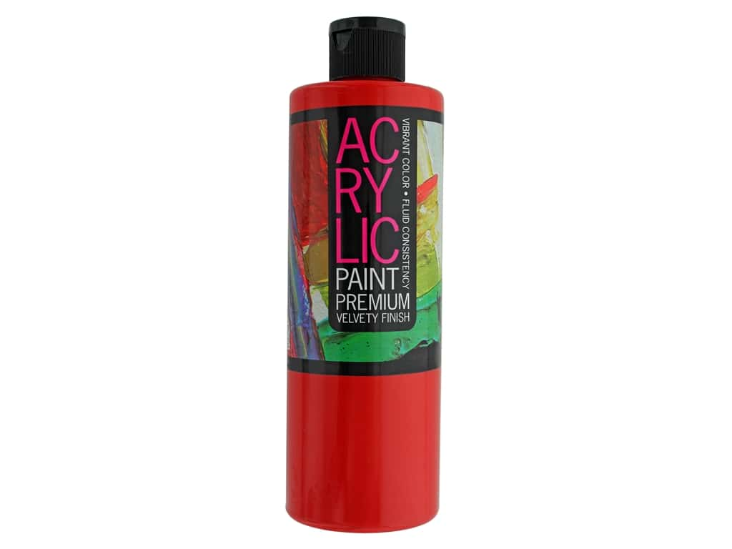 Pro Art Student Acrylic Paint 16 oz. Hansa Red
