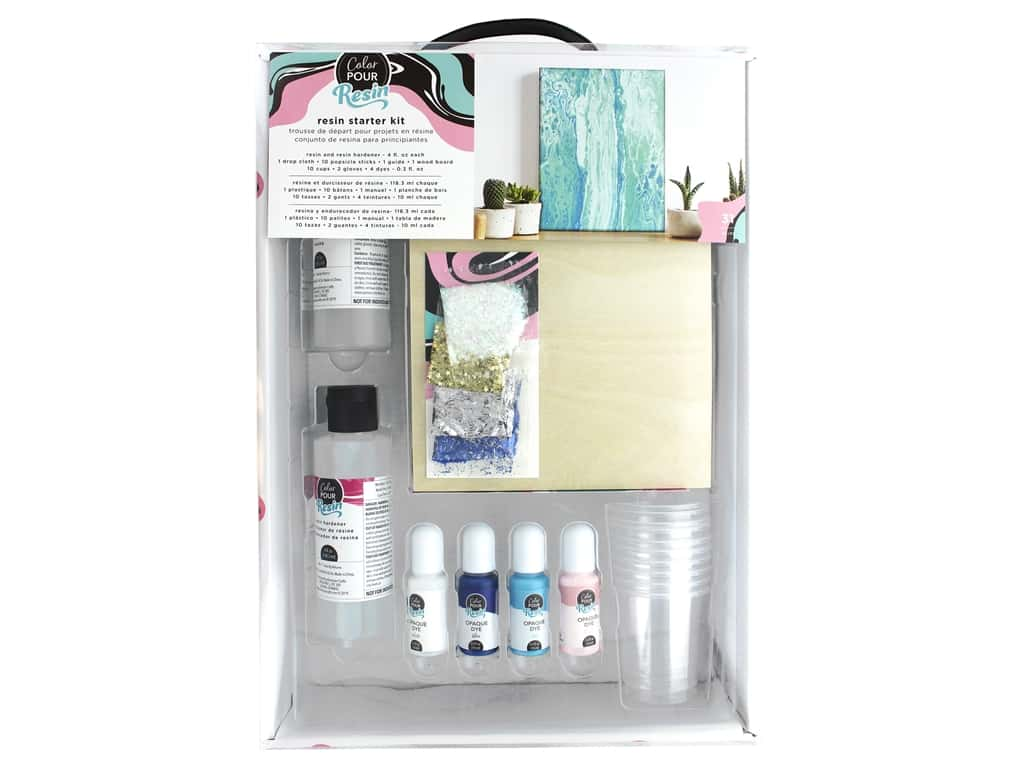 American Crafts Color Pour Resin Starter Kit
