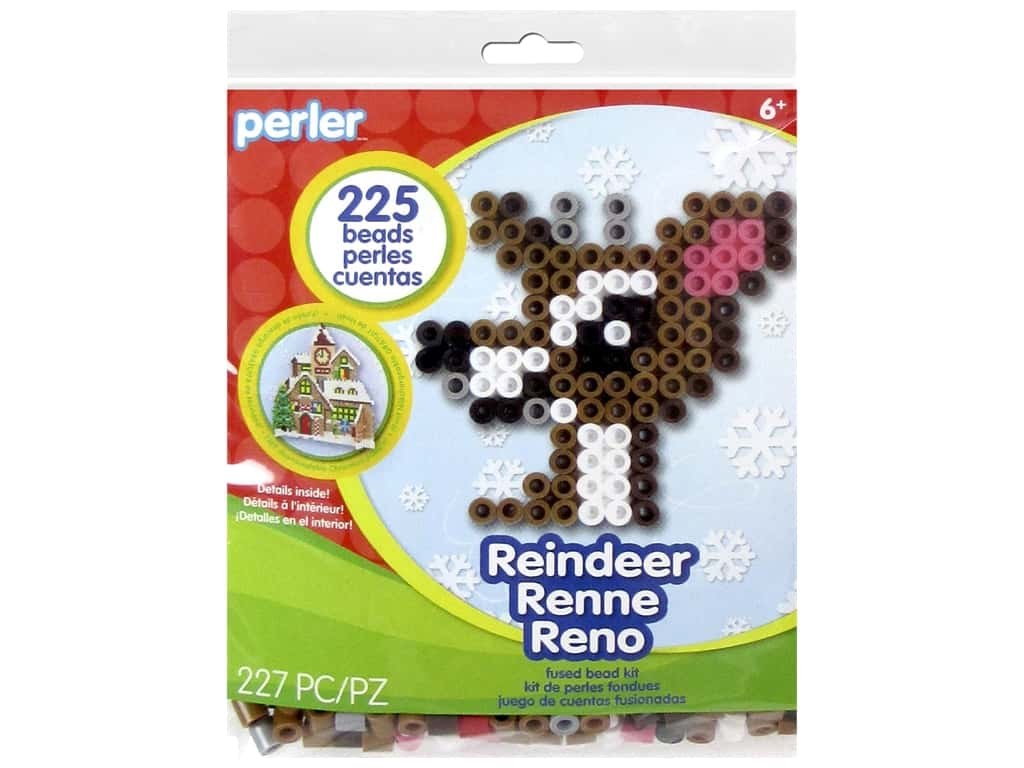 Perler Fused Bead Kit Trial Reindeer