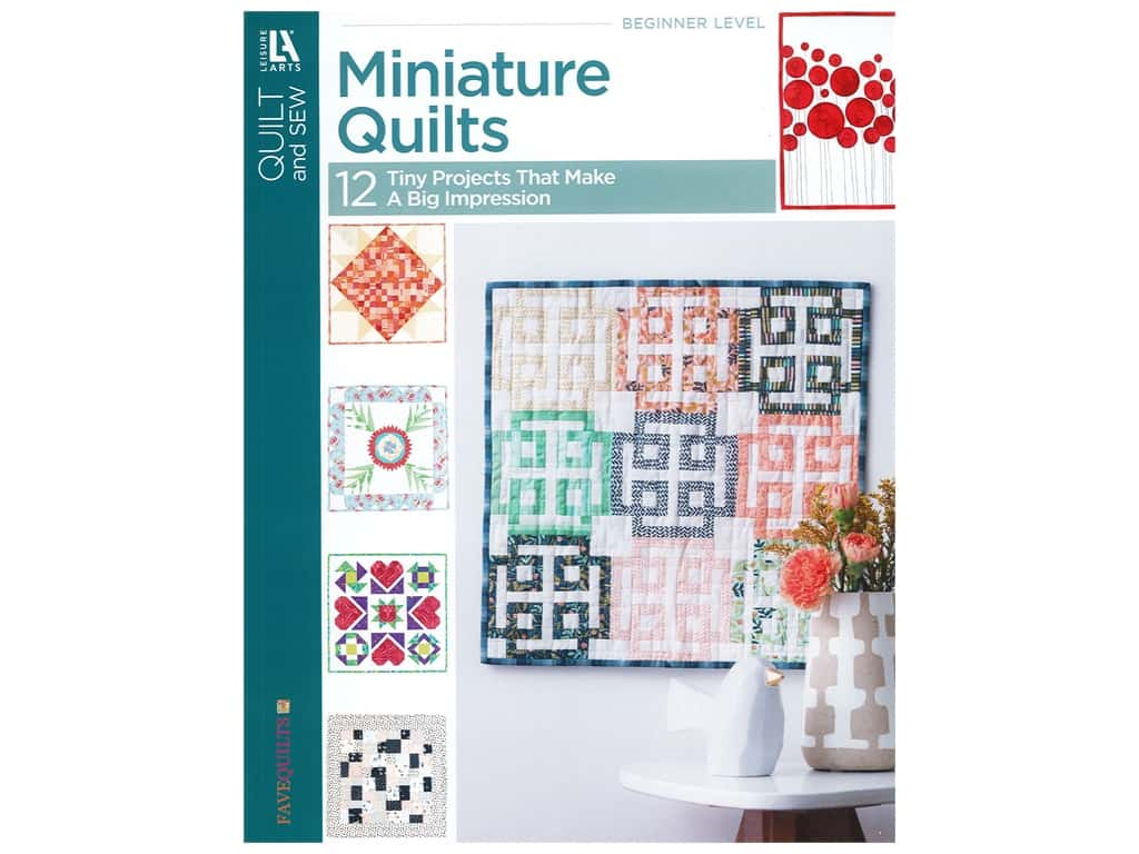 Leisure Arts Miniature Quilts Book