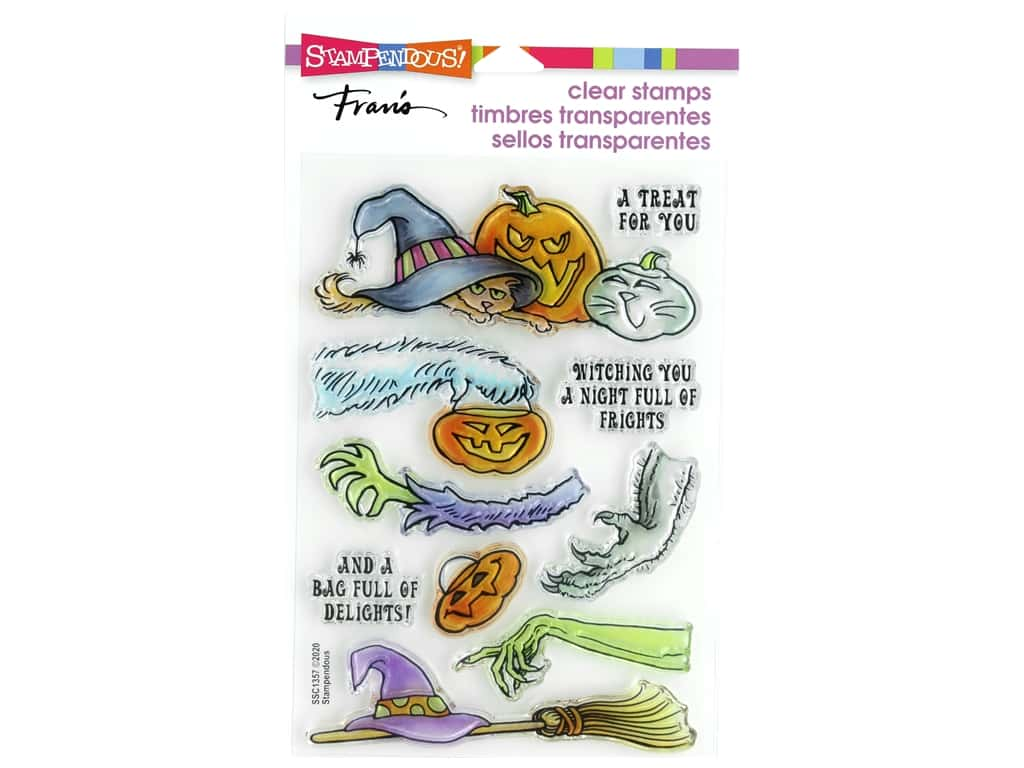 Stampendous Clear Stamp Fran's Frightful Gift