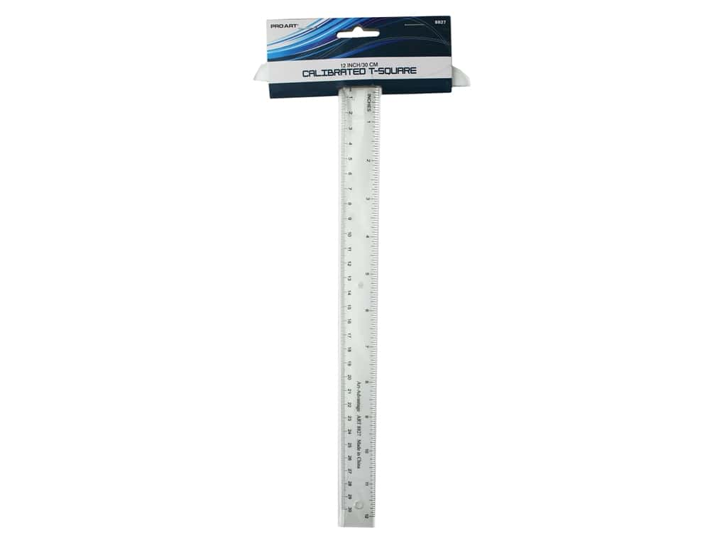 Pro Art Drafting T Square Calibrated 12 in. /30 cm