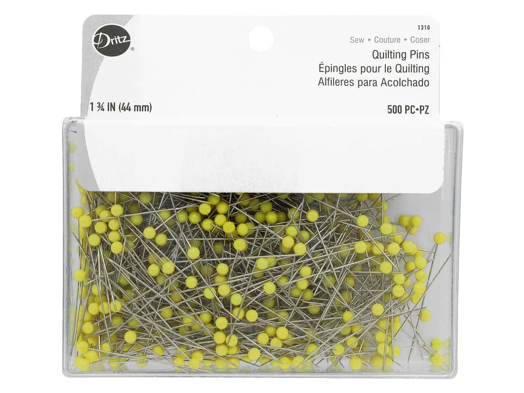 Dritz Quilting Pins 500 pc. Size 28
