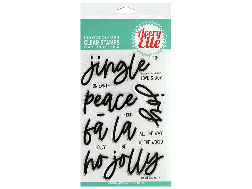 Avery Elle Clear Stamp Jingle