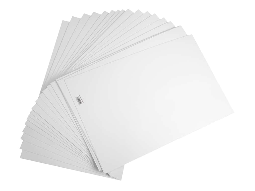 Pro Art Poster Poster Board 14 in. x 22 in. 6 ply White 100 pc (100 pieces)