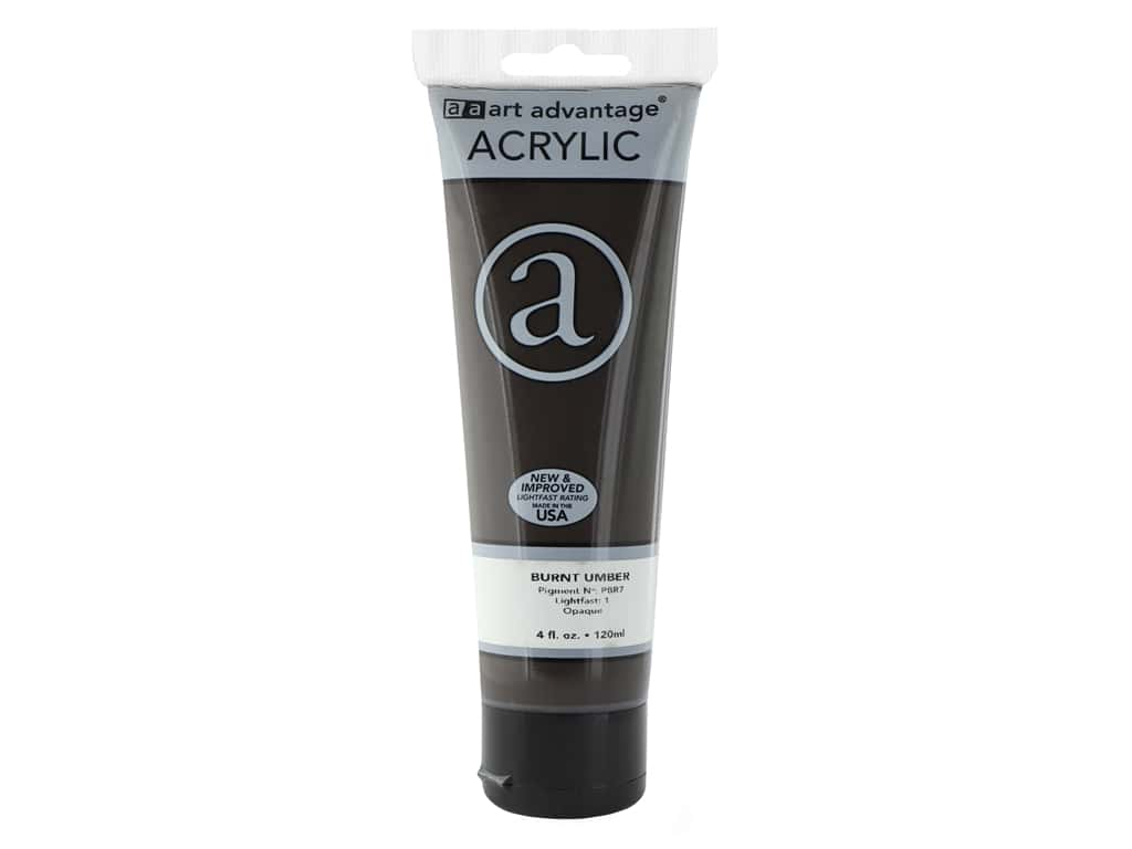 Art Advantage Acrylic Paint 4 oz. Burnt Umber