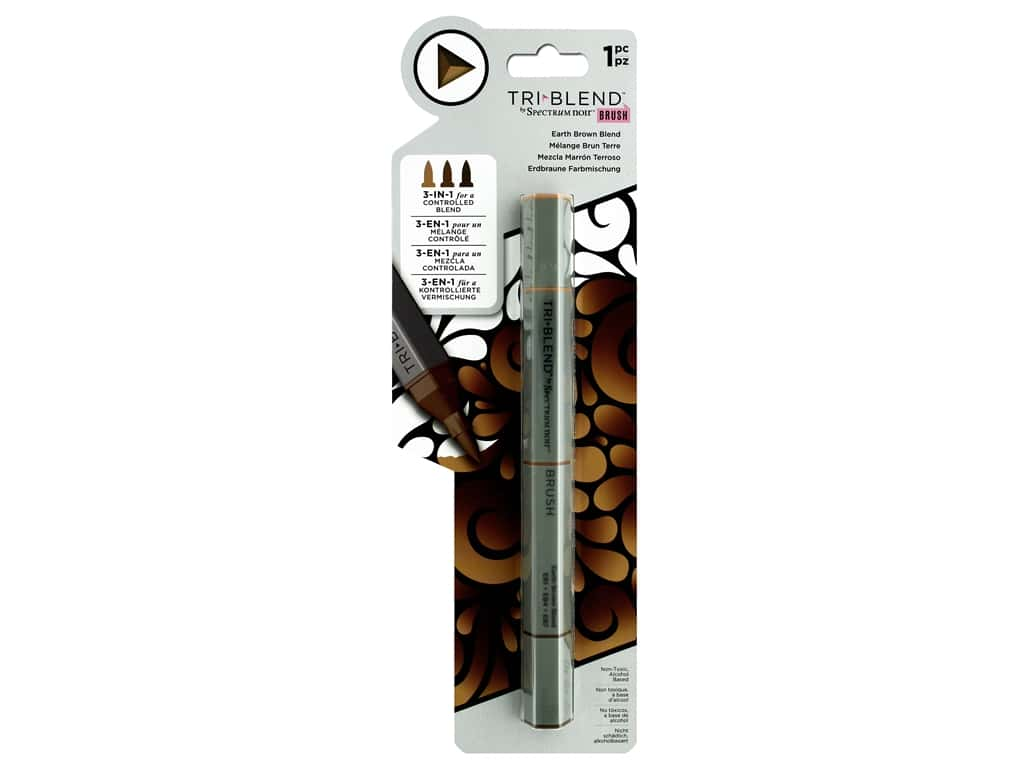 Crafter's Companion Spectrum Noir Tri Blend Marker Earth Brown