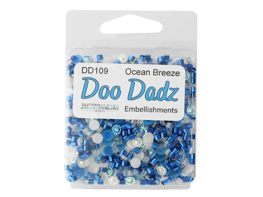 Buttons Galore Embellishments DooDadz Ocean Air