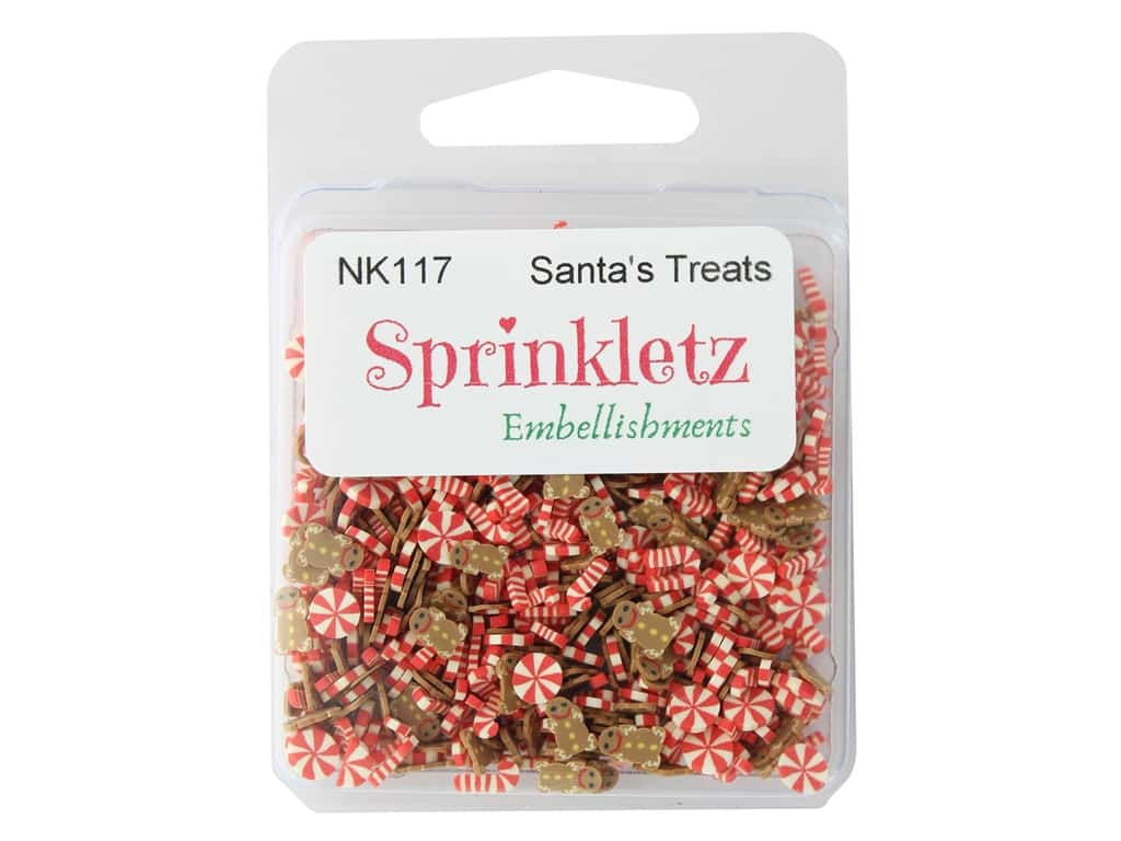 Buttons Galore Sprinkletz - Santa's Treats