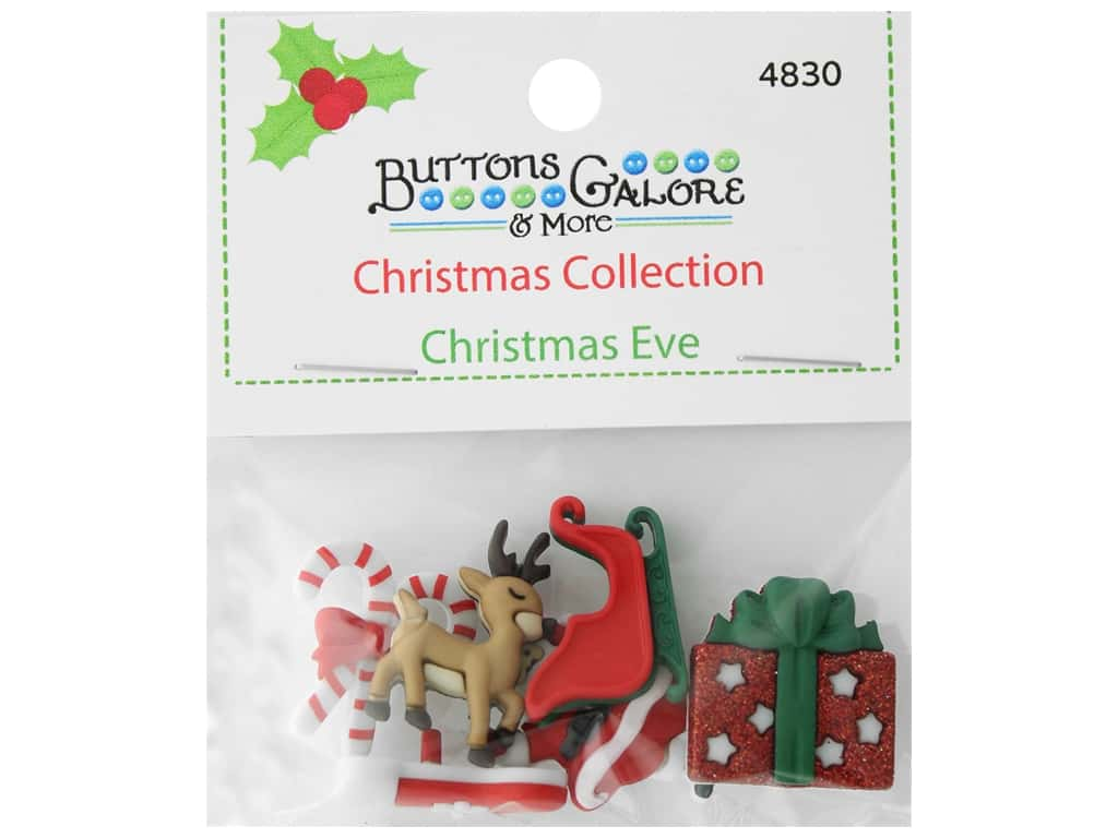 Buttons Galore Theme Button Christmas Collection Christmas Eve