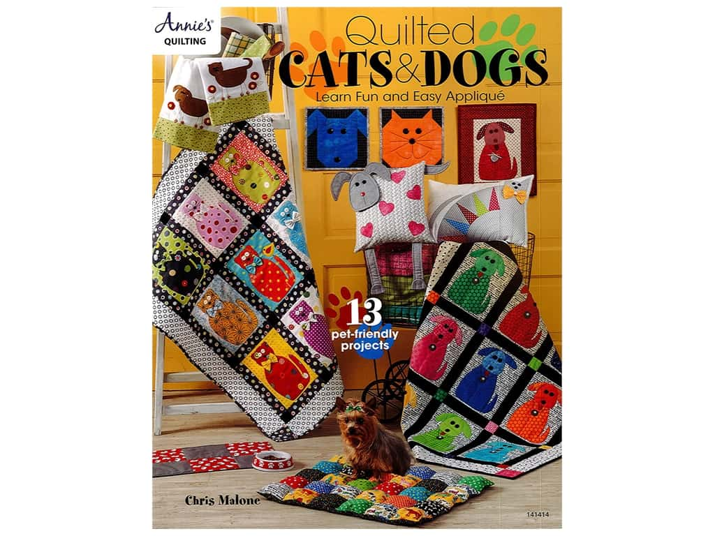 Annie's Quilted Cats & Dogs Book