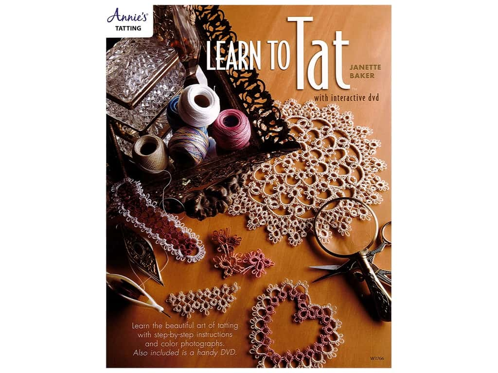 Learn to Tat with Interactive DVD & Book