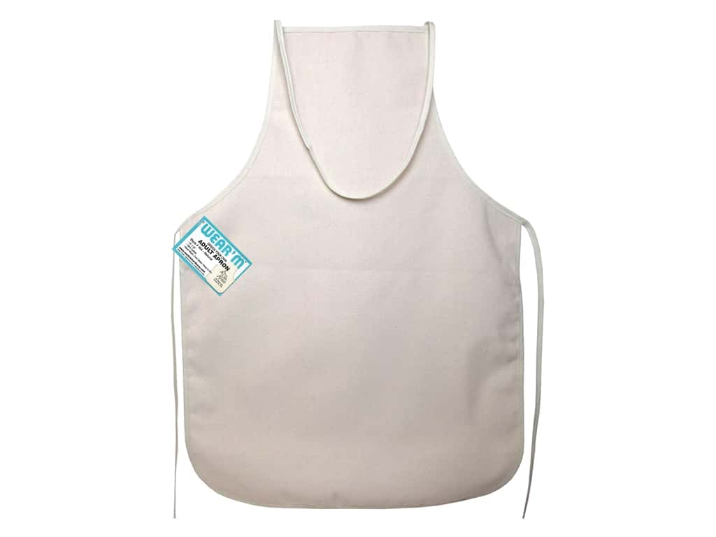 Mark Richards Canvas Apron 19 x 28 in. Natural