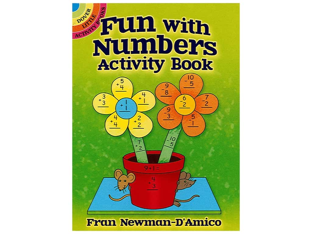 Dover Publications Little Fun With Numbers Activity Book