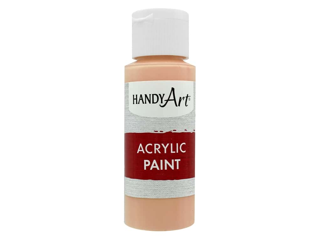 Handy Art Acrylic Paint 2oz Student Peach