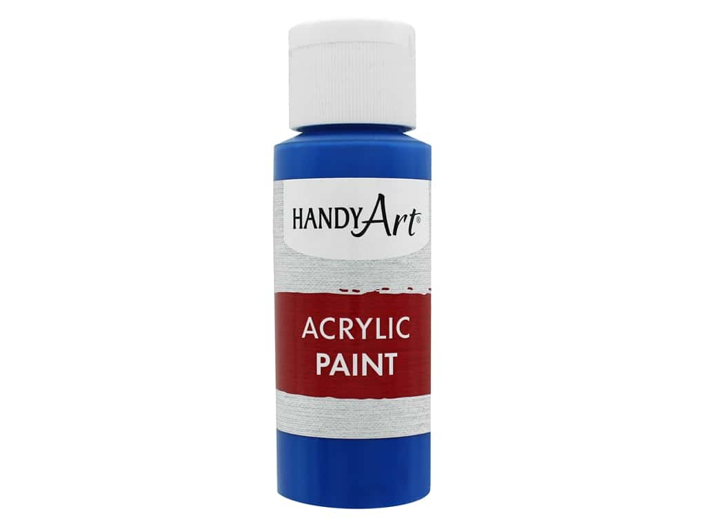 Handy Art Acrylic Paint 2 oz. Primary Blue
