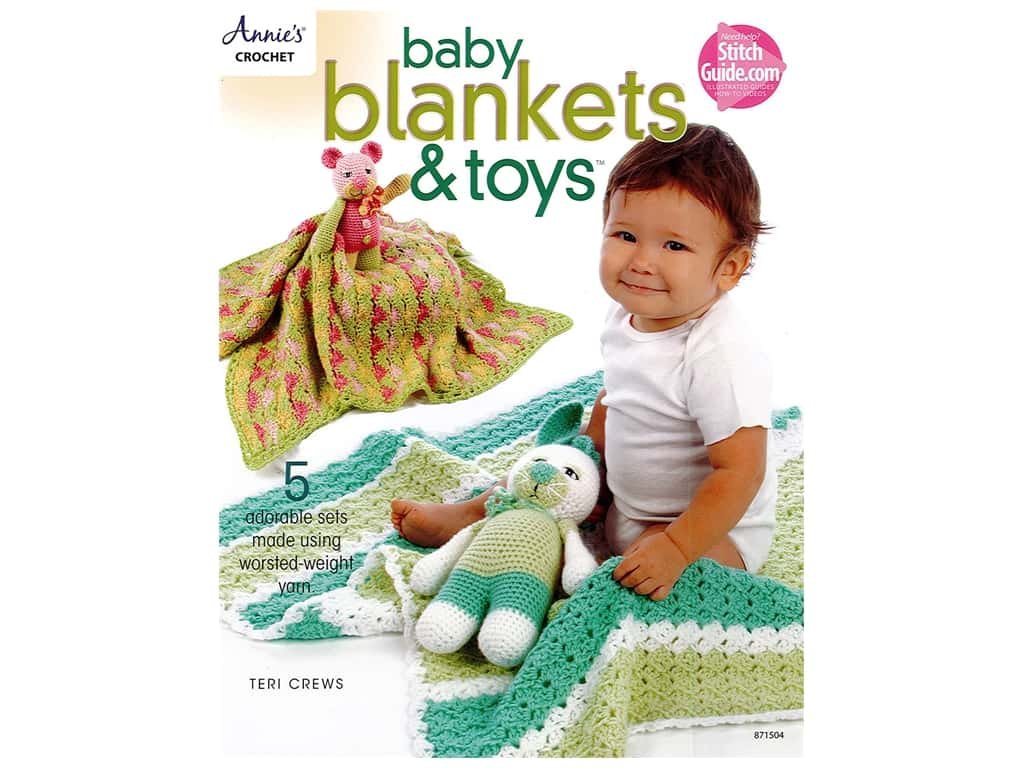 Baby Blankets & Toys Book