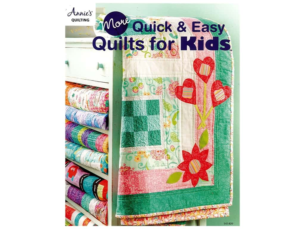 More Quick & Easy Quilts for Kids Book