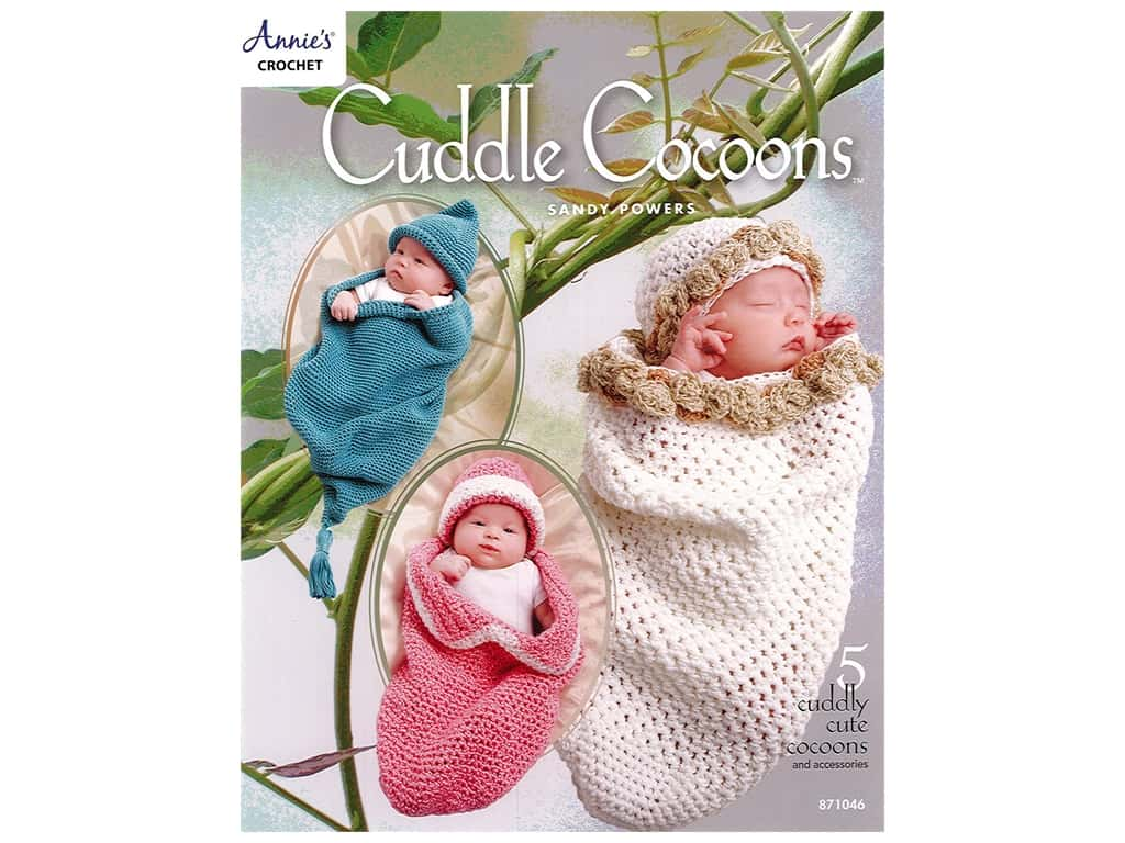 Annie's Crochet Cuddle Cocoons Bk