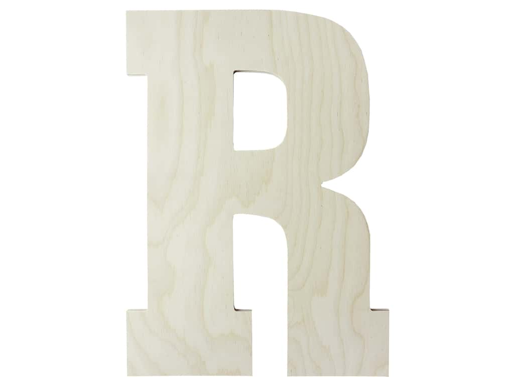 "MPI Marketing Wood Letter 13"" Baltic Birch R"