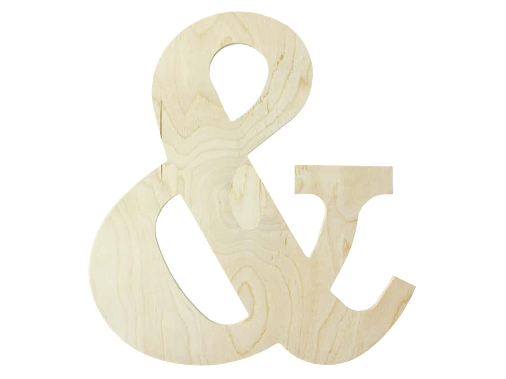 "MPI Marketing Wood Letter 13"" Baltic Birch Symbol &"