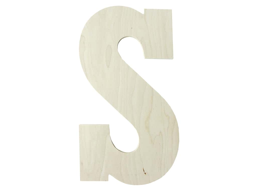 "MPI Marketing Wood Letter 13"" Baltic Birch S"