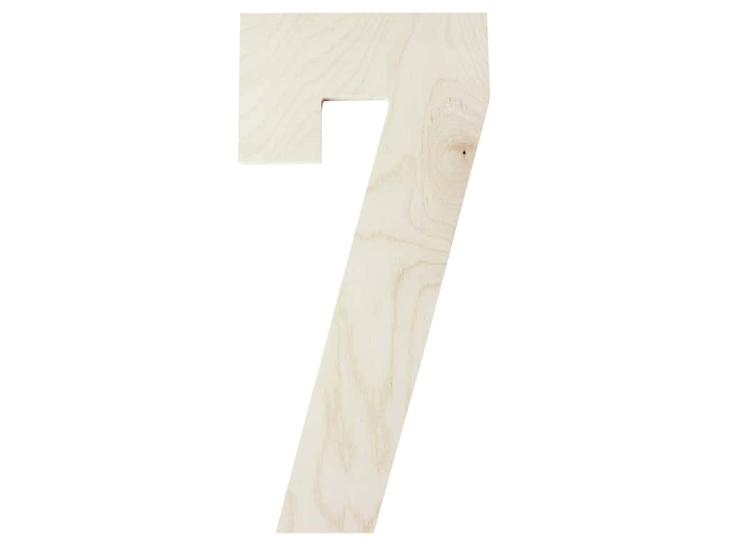 "MPI Marketing Wood Letter 13"" Baltic Birch No 7"