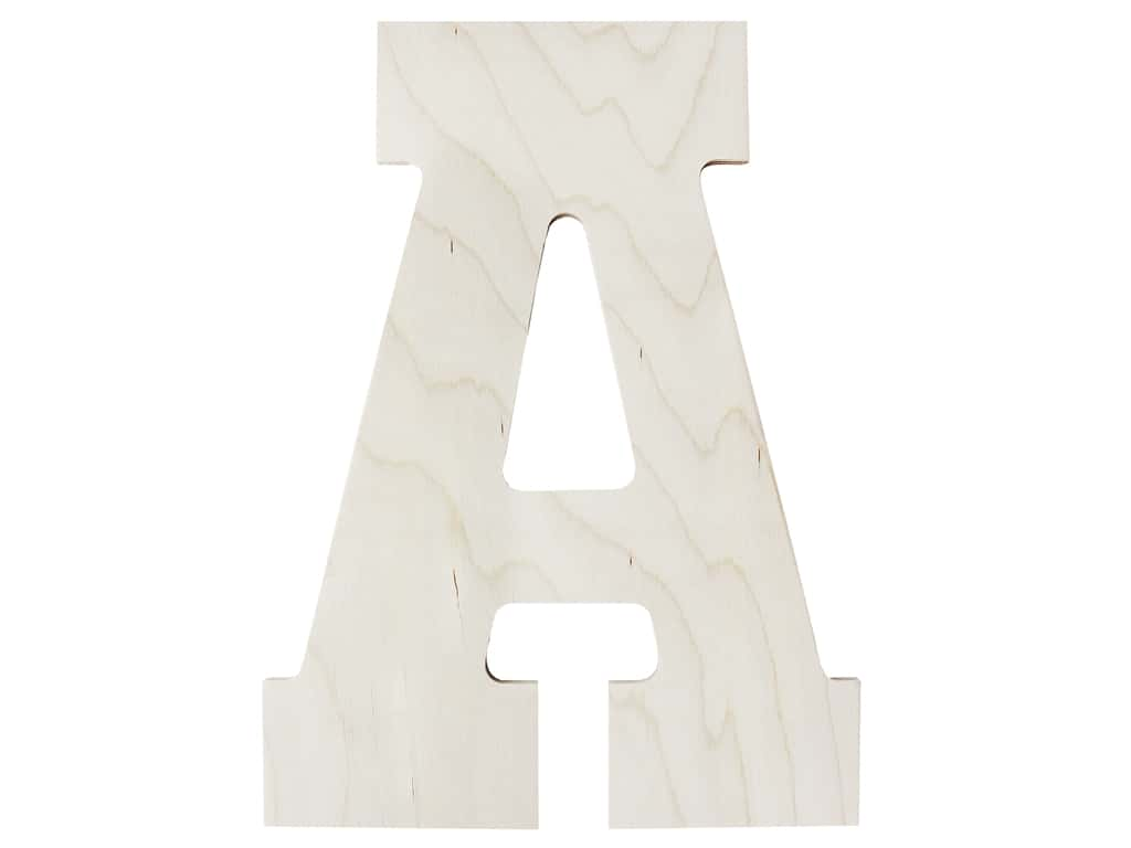 "MPI Marketing Wood Letter 13"" Baltic Birch A"