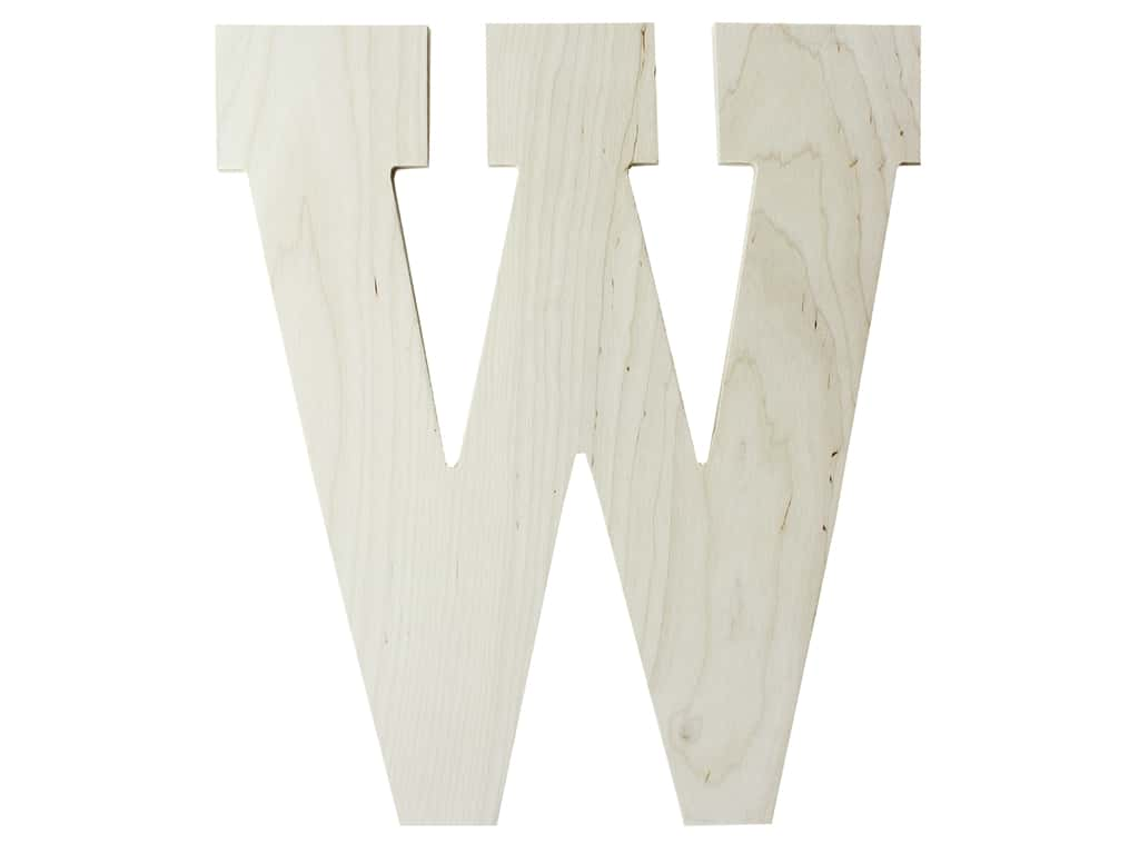 "MPI Marketing Wood Letter 13"" Baltic Birch W"