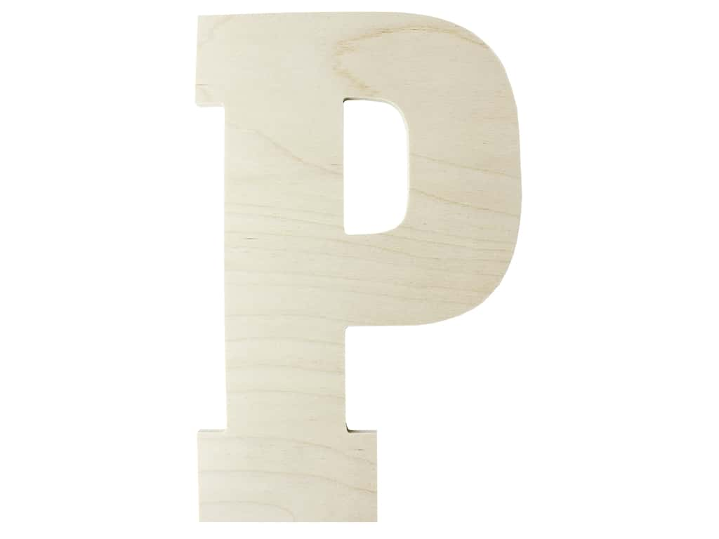 "MPI Marketing Wood Letter 13"" Baltic Birch P"