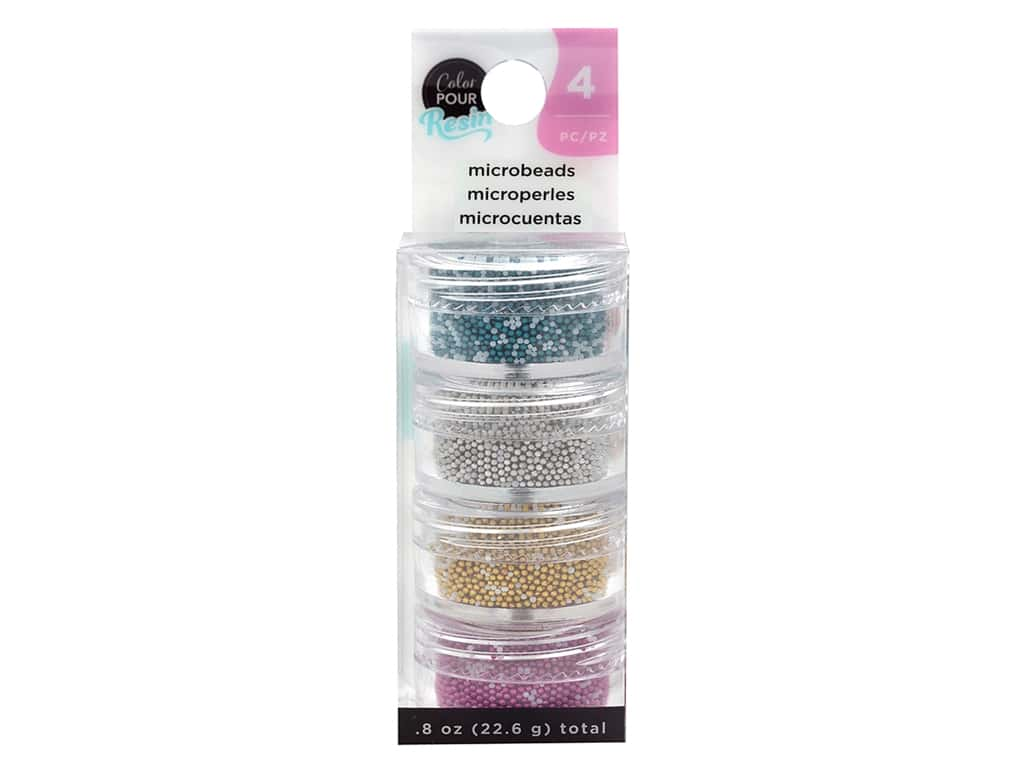 American Crafts Color Pour Resin Mix In Microbeads