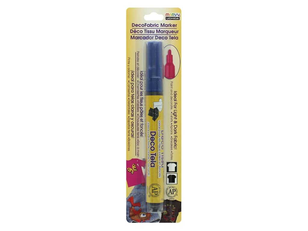 Uchida DecoFabric Paint Marker Blue